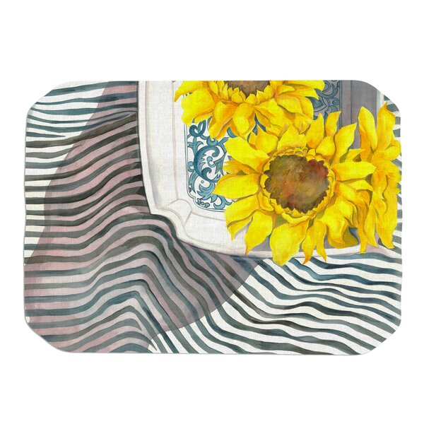 Finall Sunflower Placemat by KESS InHouse