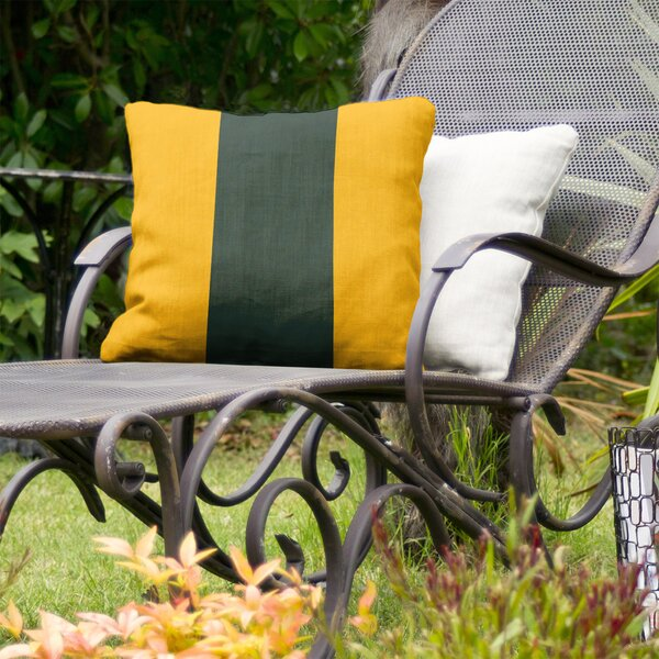 Green Bay Football Indoor/Outdoor Throw Pillow