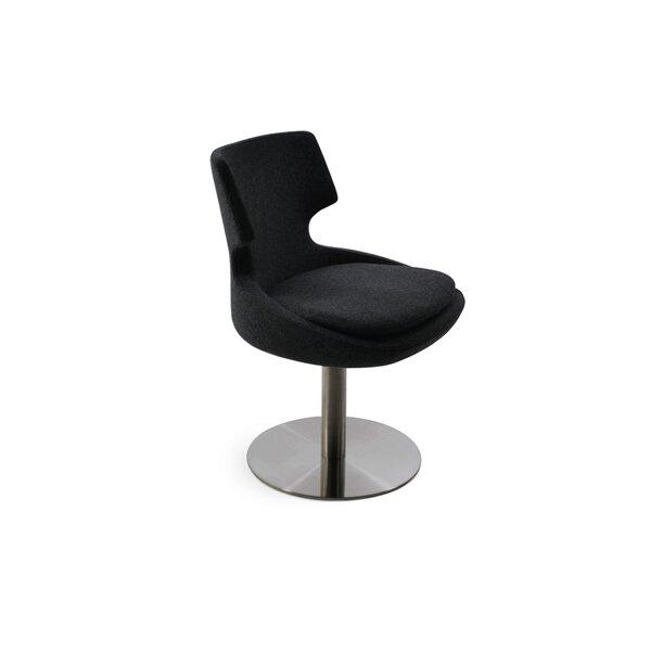 Elrod Swivel Upholstered Dining Chair by Orren Ellis