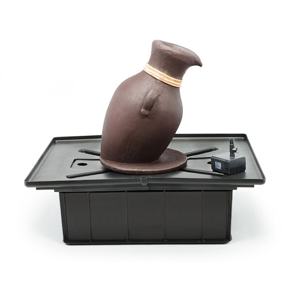 Copper Euro Terra Cotta Leaning Vase Fountain Kit by Aquascape