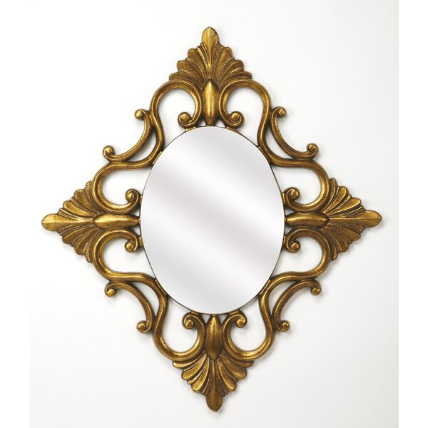Jeffcoat Wall Mirror by Fleur De Lis Living