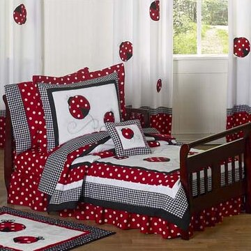 Little Ladybug 5 Piece Toddler Bedding Set by Sweet Jojo Designs