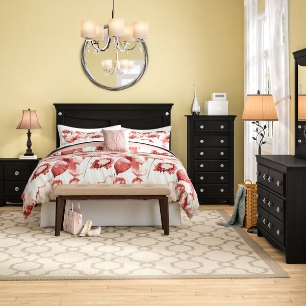 Fralick Queen Standard Configurable 5 Piece Bedroom Set by Winston Porter