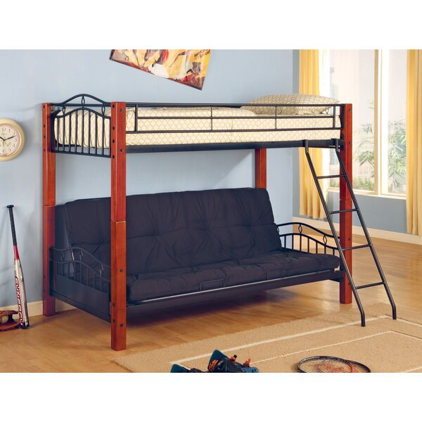 Elk City Twin Over Full Futon Bunk Bed by Wildon Home®