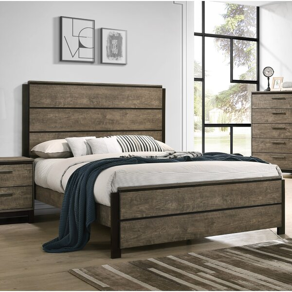 Uptown Panel Bed by Gracie Oaks