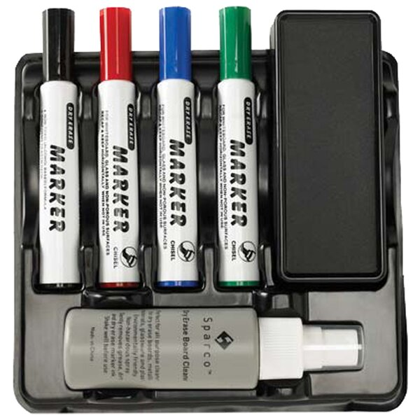 Marker/Eraser Caddy with Mounting Tape by Sparco Products