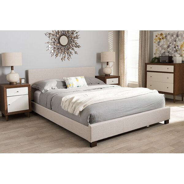 Newenton Upholstered Platform Bed by Ebern Designs