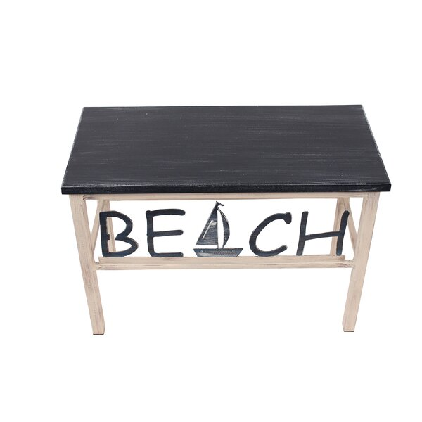 Islas Beach/Sailboat Wood Bench by Highland Dunes