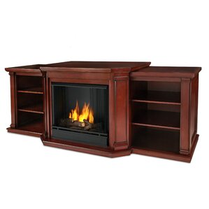 valmont 75 5 quot tv stand with fireplace