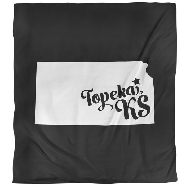 Kansas Topeka Single Duvet Cover