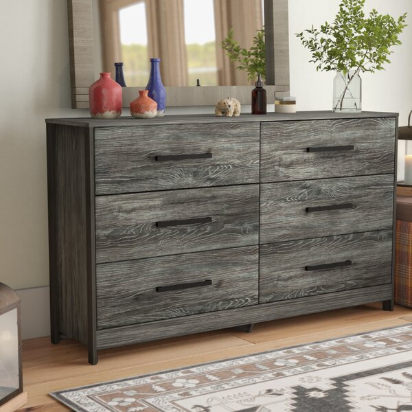 Fuller 6 Drawer Double Dresser by Loon Peak