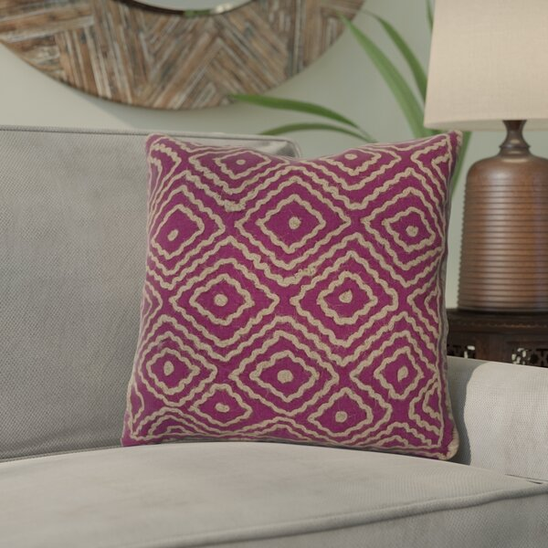 Harry Marcos Diamond Throw Pillow by Mistana