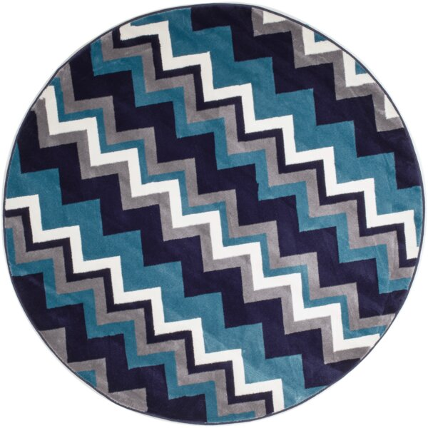 Pittsfield Navy Blue Area Rug by Latitude Run