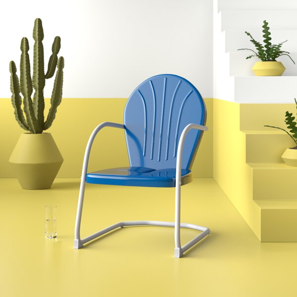 Brunelle Retro Patio Chair by Hashtag Home Hashtag Home