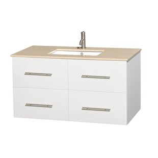Reviews Centra 42 Single Bathroom Vanity Set ByWyndham Collection