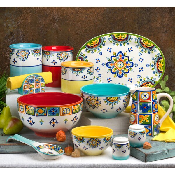 Mumbai 16 Piece Dinnerware Set, Service for 4 by Euro Ceramica