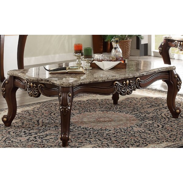 Roberts Coffee Table by Fleur De Lis Living
