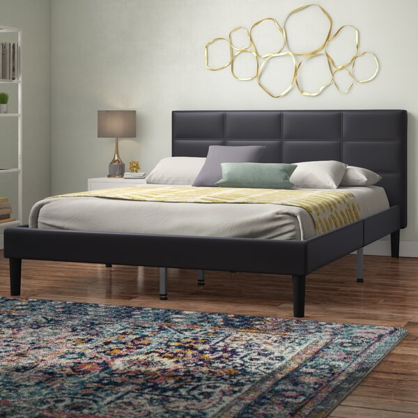 Hilyard Upholstered Platform Bed by Wrought Studio
