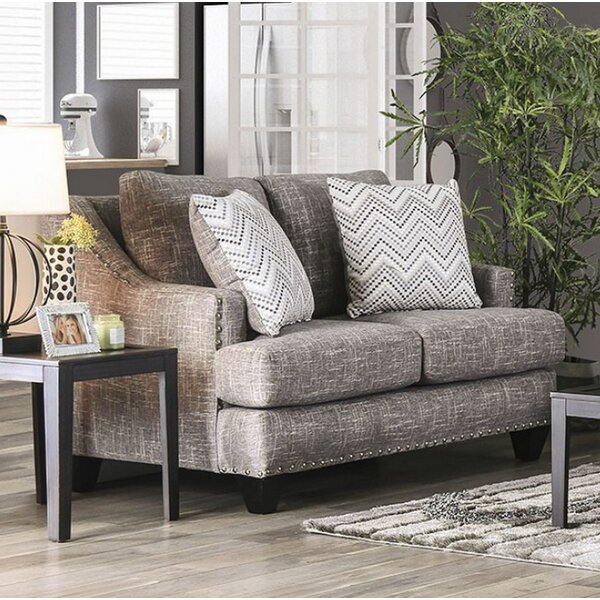 Special Recommended Amato Loveseat by Canora Grey by Canora Grey