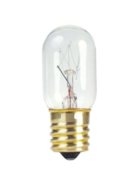 15W E17 Dimmable Incandescent Edison Capsule Light Bulb by Westinghouse Lighting