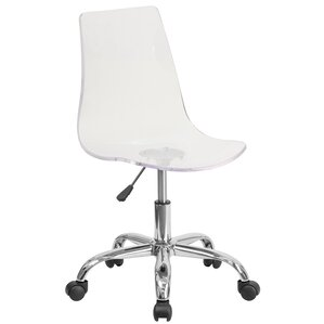 hutto desk chair - Lucite Desk