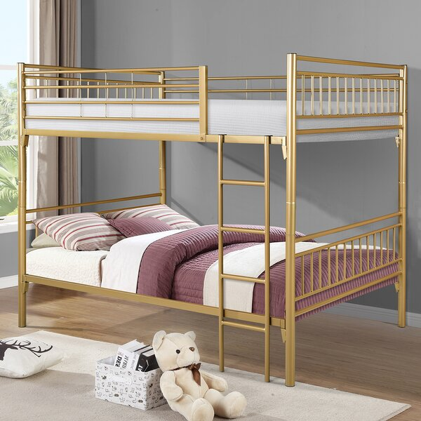 Adrianna Full Over Full Bunk Bed By Viv + Rae by Viv + Rae Cheap