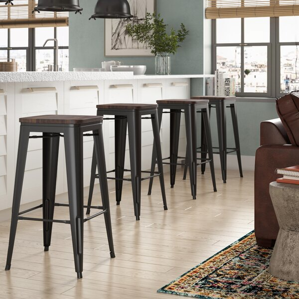 Calanthe 30 Bar Stool (Set of 4) by Williston Forge