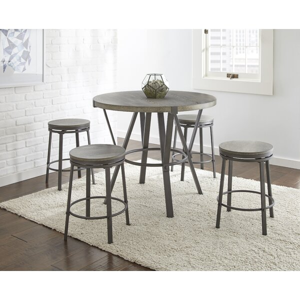 Leka 5 Piece Pub Table Set by Gracie Oaks