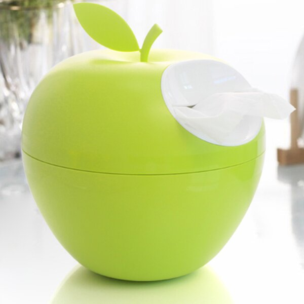 Apple Tissue Box Cover by Home and Above