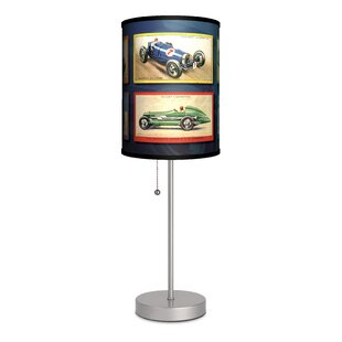 Reviews Transportation Race Cars 20 Table Lamp By Lamp-In-A-Box