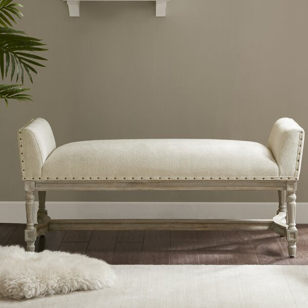 Toulouse Wagner Upholstered Bench by One Allium Way