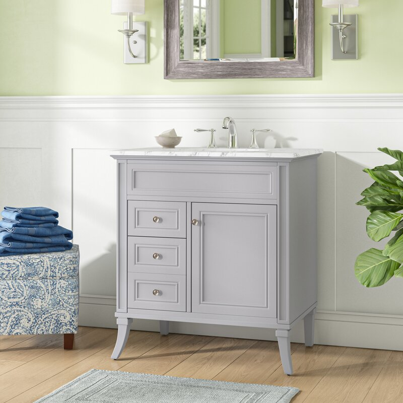 Charlton Home Hauser 32 Single Bathroom Vanity Set Reviews Wayfair