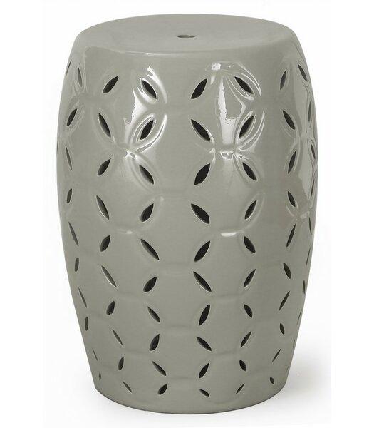 Round Ceramic Garden Stool by Homebeez