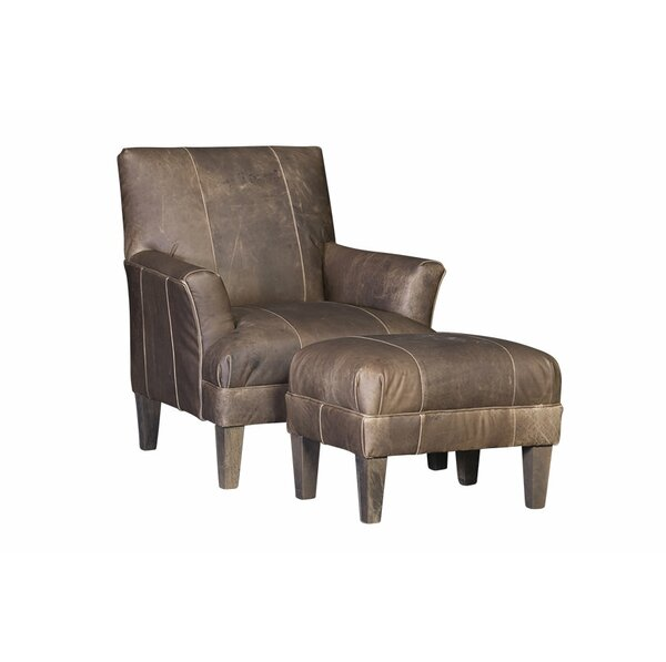 Marcell Club Chair and Ottoman by Gracie Oaks