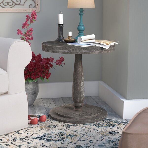 Sandiacre Round End Table by Three Posts