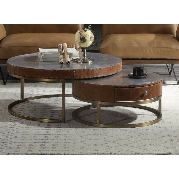 Union Rustic Round Coffee Tables