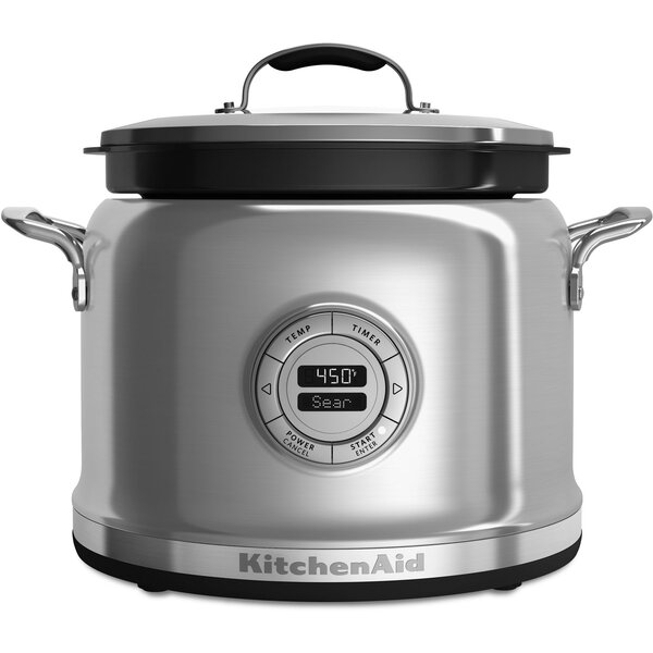 4 Qt. Multi-Cooker with Stir Tower - KMC4244 by KitchenAid