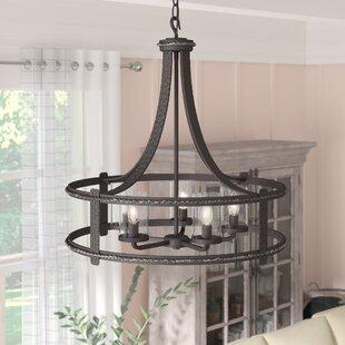 Price comparison Halcott 5-Light Foyer Lantern Pendant By Laurel Foundry Modern Farmhouse