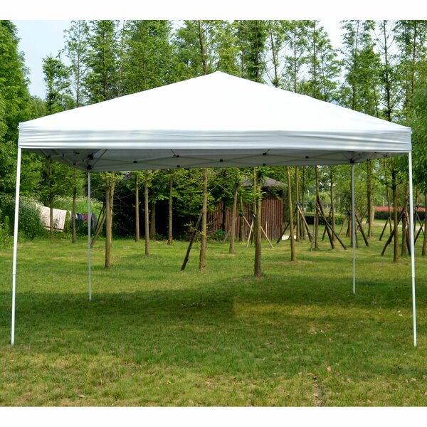 13 Ft. W x 13 Ft. D Steel Pop-Up Canopy by Outsunny