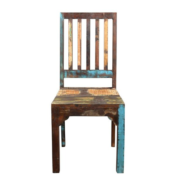 Nevaeh Solid Wood Dining Chair (Set of 2) by Breakwater Bay