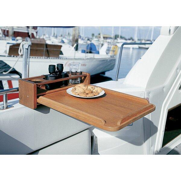 Folding Teak Side Table by SeaTeak