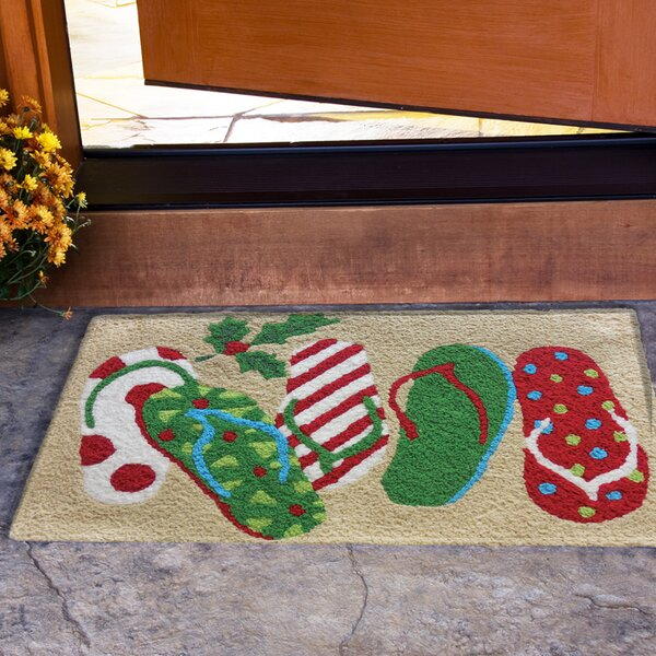Mikhail Christmas Sandals Mat