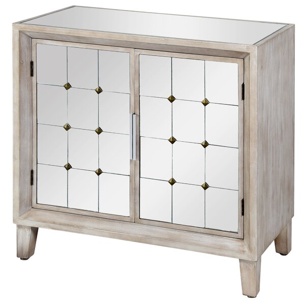 Cdric 2 Door Accent Cabinet by Bungalow Rose Bungalow Rose