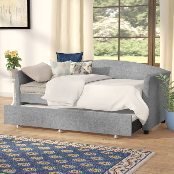 Alvina Upholstered Daybed with Trundle by Andover