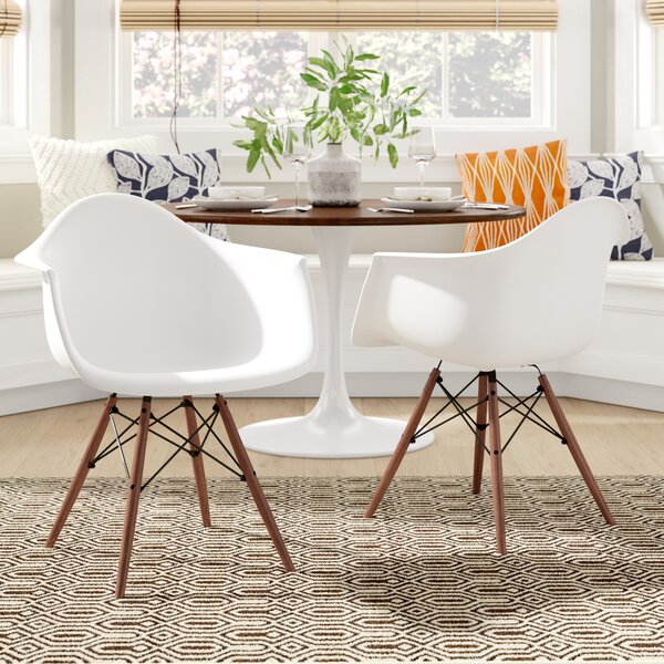 Quintus Dininger Solid Wood Dining Chair (Set of 2) by Langley Street