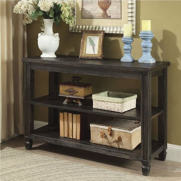 Highland Dunes Black Console Tables