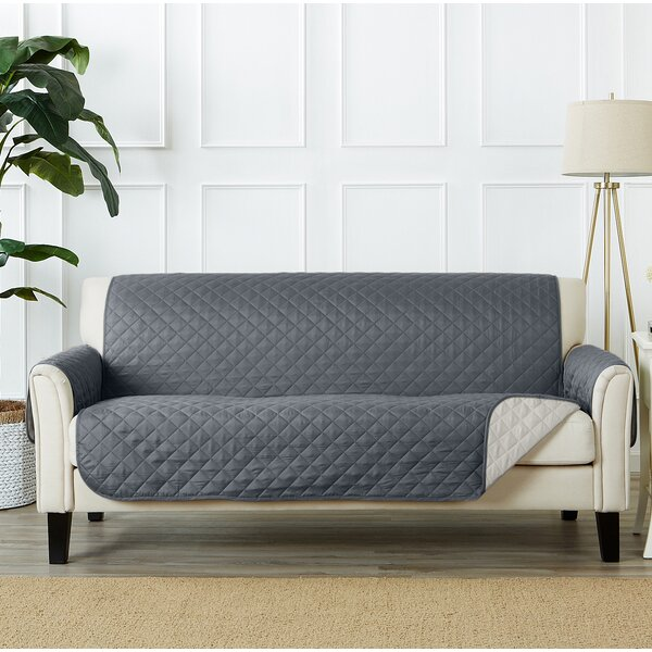 Box Cushion Sofa Slipcover By Red Barrel Studio.