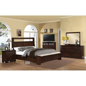 Lancaster Panel Configurable Bedroom Set by Loon Peak