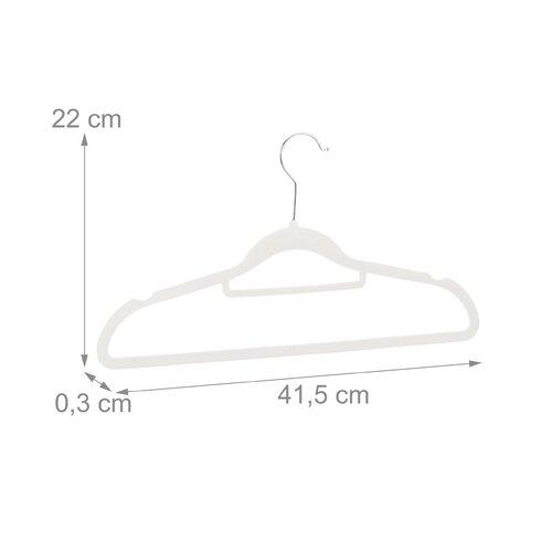 Kleiderbügel-Set Selph ClearAmbient Farbe: Weiß | Flur & Diele > Garderoben > Kleiderbügel | ClearAmbient