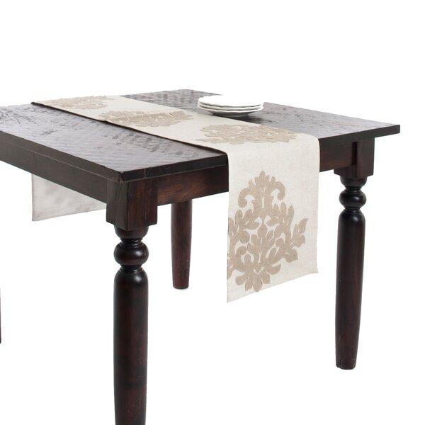 Ludovic Design Appliqué Table Runner by Lark Manor